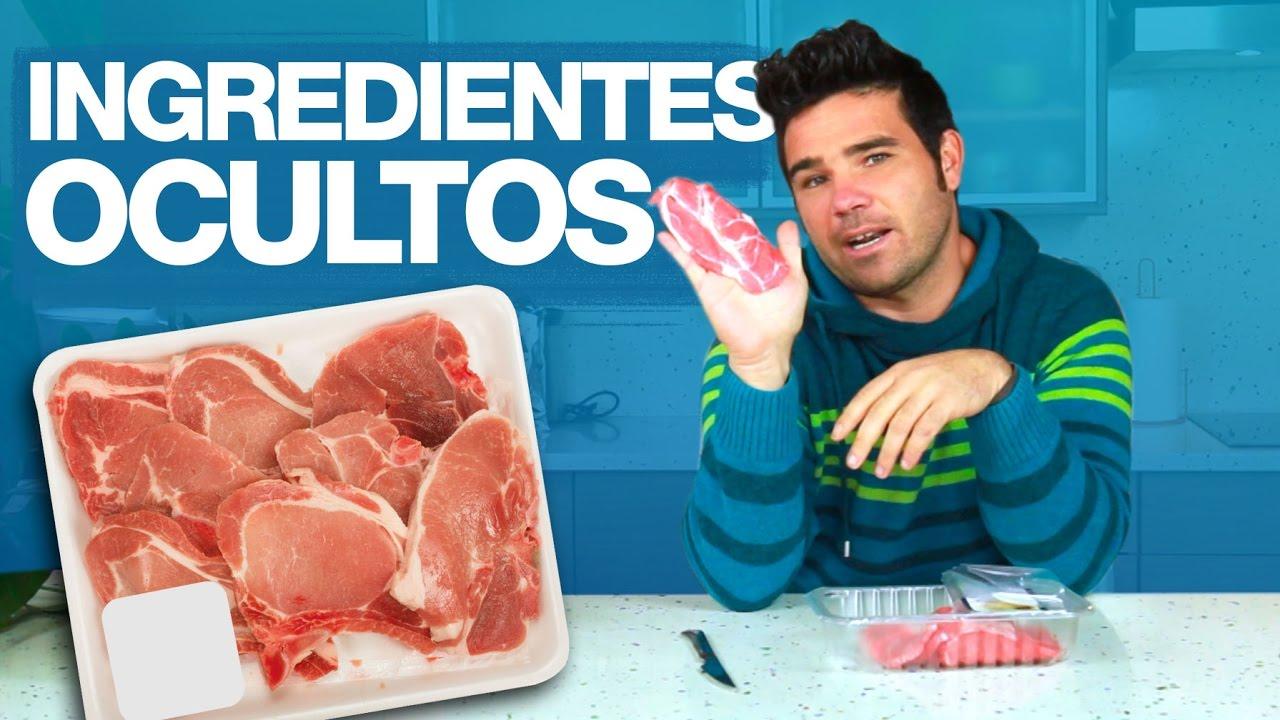 ¿Tiene la carne algún ingrediente oculto?