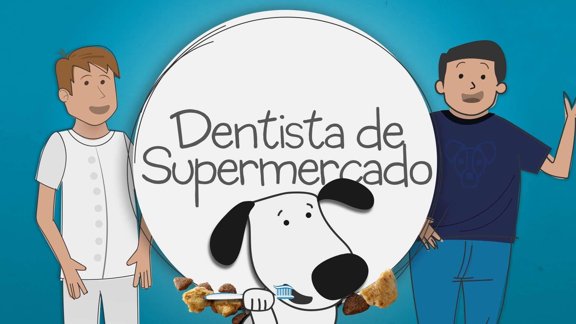 Ralf y Oli #01. Dentista de supermercado.